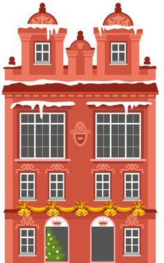 CHRISTMAS BUILDING  /  HOUSE *