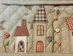 I found the pattern for this pouch from a Japanese patchwork book (below). ISBN 978-986-6485-24-4