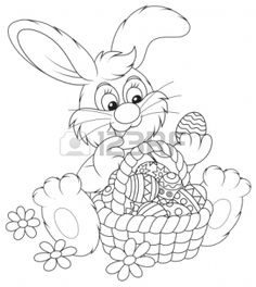 Easter Bunny Coloring Pages for Preschoolers 73610 Easter Bunny Colouring, Bunny Coloring Pages, Printable Coloring Pages, Colouring Pages, Adult Coloring Pages, Coloring Pages For Kids, Coloring Books, Coloring Sheets, Easter Printables