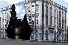 René Magritte Museum in Brussels, Belgium