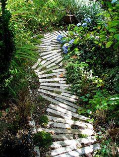 Attractive Unique Walkways Garden For Garden Beautiful Garden Paths Walkways 0
