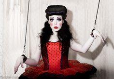Doll makeup #WinWayneGossTheCollection