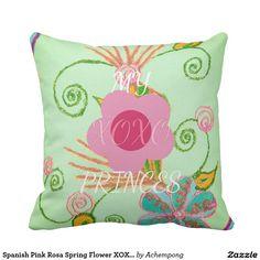 スペインのなピンクのローザの春の花XOXOの文字のプリンセス #beautiful #amazing stuff gift products sold on zazzle #Hakuna #Matata