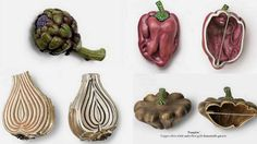 Hemmerle ~ Assorted vegetable jewels