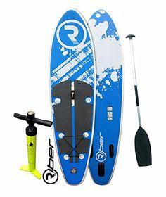 Stand Up Paddle Surf Board Paddelboard SUP aufblasbar 305cm Set Pumpe orange
