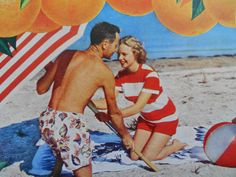 This is an original advertisement from a 1949 Life magazine.  All ads are original and in very good to excellent condition unless otherwise noted. Product advertised: Florida canned orange juice.  Measurements: about 10 1/4 x 14.  ..
