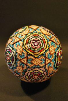 93-Year-Old Grandma Shares 30 Years of Embroidered Temari Balls ♥   ©
