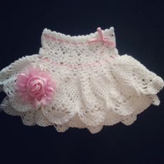 Crochet skirt for girl crochet skirt crochet baby by Gaborylia