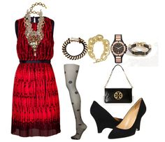 Christmas Party Dress Styling