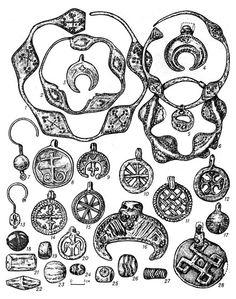 Седова М.В. Ювелирные изделия древнего Новгорода..., с. 23