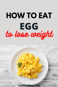 So if you want to increase your protein intake, you can add more egg whites, you can make an omelet with vegetables, and then it gets more interesting to complement your diet. #healthyfoods #healthydiet #eggdiettips Healthy Diet Tips, Healthy Recipes, Eggs And Sweet Potato, Types Of Diets, Lose Weight, Weight Loss, Egg Diet, Omelet, Egg Whites
