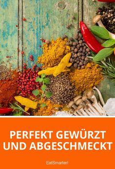 Perfekt gewürzt und abgeschmeckt | eatsmarter.de