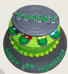 Image detail for -CRAVINGS cakes cupcakes and cookies: Teenage Mutant Ninja Turtles Cake ...