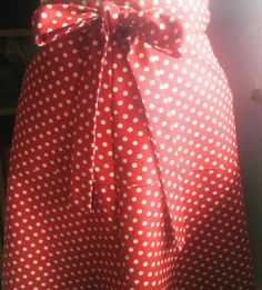 Alana's dotty Miette skirt - sewing pattern by Tilly and the Buttons
