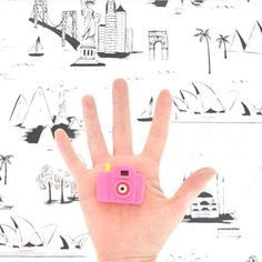 Feeling a little cooler than usual today because @whatimholding featured my digits on their (much) cooler feed  Hop over to see my story behind this tiny pink camera