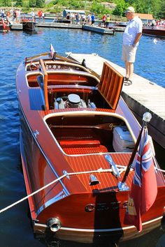 Wooden Power boats C 1950's