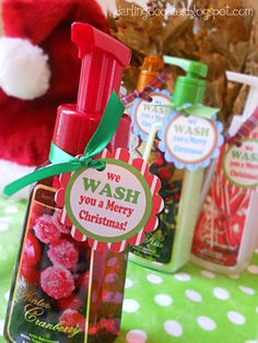 We Wash You A Merry Christmas....fun gift idea!