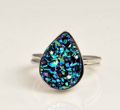 Druzy Ring, I love theses