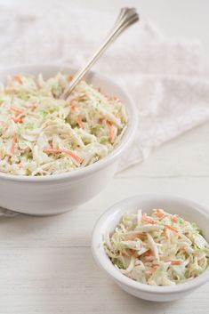Just like my favorite potato salad recipe, this coleslaw recipe has been with me for many years, always evolving to reach that higher state of being. Over the years, I've. Radish Recipes, Slaw Recipes, Easy Salad Recipes, Easy Salads, Classic Coleslaw Recipe, Creamy Coleslaw, Cookout Food, Pork Tacos, Salty Foods