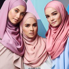 "546 Likes, 9 Comments - Malaysia's Best Hijab Brand (@alhumairacontemporary) on Instagram: ""Semestinya koleksi SUCI dari Alhumaira ini akan memberikan aura elegant, classy & exclusive kepada…"""