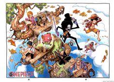 [ArtBook] One Piece Databook - Color Walk 5: Shark 6