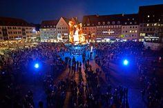 Bilder, Infos, Impressionen von der Blauen Nacht 2015 - Blaue Nacht - nordbayern.de (Tickaroo Pro Account Newscast) (in German)
