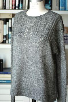 Вязаный джемпер оверсайз Vogue Knitting, Baby Knitting, Knitting Machine Patterns, Herringbone Stitch, Circular Knitting Needles, Knitwear, Knit Crochet, Sweaters For Women, Tejidos