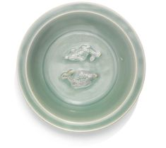 A 'LONGQUAN' CELADON 'TWIN FISH' DISH<br>YUAN DYNASTY, 13TH/14TH CENTURY | Lot | Sotheby's