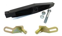 Heavy Duty Snow Plow Pivot Bar & Pin Kit for Western Ultra Mount Snowplow Blade > Replaces Western: 67842, 67974, 67977 For Ultra Mount Snowplow Blades New Style