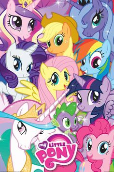 My Little Pony: Friendship Is Magic. Probably the best, highest quality young girls' cartoon there is. When I was young, MLP was HORRIBLE.