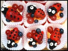 Lovely Lady Bug Treats! 3 - https://www.facebook.com/different.solutions.page