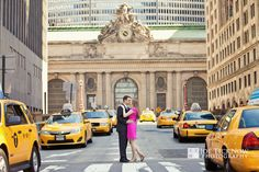 Grand Central Station Engagement Photo www.joeticknow.com grand central wedding photos