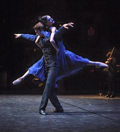 etoilesoftheopera: Dorothée Gilbert and Herve Moreau in Luer d'étoiles Photo by James Bort