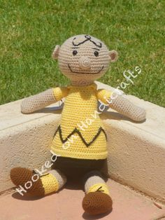 Charlie Brown by Hooked on Handicrafts. See us on Facebook and please like our page. Orders taken