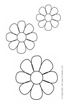 Flower Petals Coloring Pages Wall Stencil Patterns, Mosaic Patterns, Painting Patterns, Craft Patterns, Flower Patterns, Embroidery Patterns, Hand Embroidery, Felt Flowers, Fabric Flowers