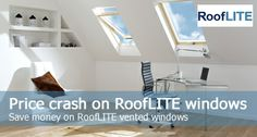 RoofLITE windows are so very similar to VELUX but sold at a cheaper price. And we've slashed prices even further.