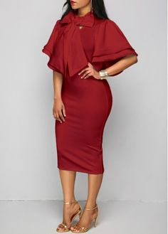 Dresses For Women Club Dresses, Dresses For Sale, Dresses For Work, Dresses With Sleeves, Dresses Dresses, Business Outfits, Office Outfits, Work Outfits, Special Dresses