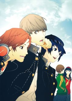 Persona! The Art Of Shigenori Soejima  Thanks for Kotaku for the pic and Soejima-san for the amazing art.