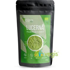 Lucerna (Alfalfa) Pulbere Ecologica/Bio 125g Uppsala, Smoothie, Natural, Drinks, Mai, Food, Biotin, Drinking, Beverages