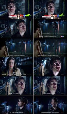 "Killian Jones and Regina - 5 * 11 ""Swan Song"""