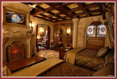 Cinderella's Castle Suite at Walt Disney World. That seems nice. #disney #travelwithkids