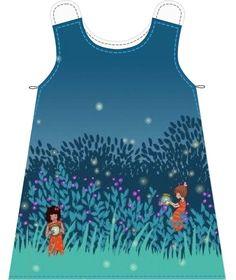 Ücretsiz dikiş öğretici ve desen A-line elbise
