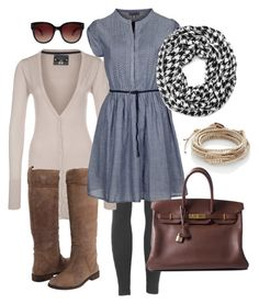 """untitled"" by htotheb ❤ liked on Polyvore featuring Sublevel, KORS Michael Kors, Chan Luu, Zalando, David & Young and Hermès"