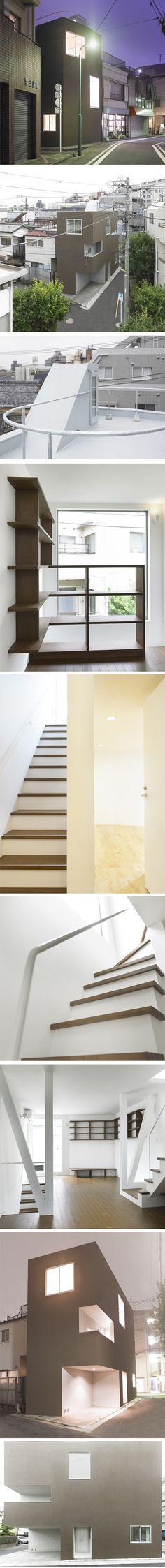 Shimouma House par Kazuya Saito Architects.
