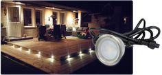 Bild på altanbelysning i trappsteg 1 Spotlights, Lightning, Pergola, Art Ideas, Deck, Gardening, Garden, Lawn And Garden, Decks