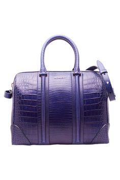 spring 2013 : Givenchy purple bag