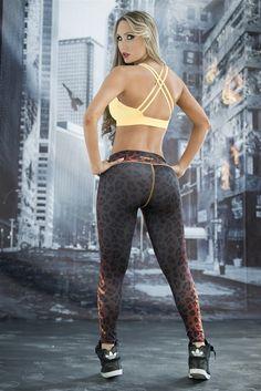 Cheetah - Super Hero Leggings - Fiber - Roni Taylor Fit  - 3 These Cheetah Super…