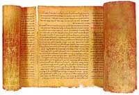 The Great Isaiah Scroll (Circa 100 BCE): The Great Isaiah Scroll is the best-preserved and the only nearly complete scroll in the cache of 220 biblical scrolls discovered in a cave in Qumran on the northwestern coast of the Dead Sea. It is one of the original seven scrolls discovered in Qumran in 1947. In September 2011 the entire Great Isaiah Scroll was published online as part of the The Digital Dead Sea Scrolls project sponsored by the Israel Museum's Shrine of the Book and Google...
