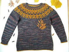 Arboreal by Jennifer Steingass, knitted by JaniSlamova | malabrigo Rios in Sunset and Pocion