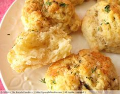 Cheese biscuits are a Southern staple, and this recipe -- from a Bombay native currently living in Paris, of all sources! -- adds a touch of garlic for delicious zing. These are drop biscuits instead of rolled biscuits, so they're quick and easy to make. They'd be a perfect accompaniment for a bowl of stew or a hearty soup. Bon appétit!